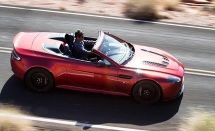 CARS Aston Martin's V12 Vantage S Roadster