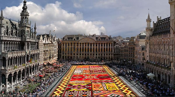 Brussels Flower Carpet Grand Place