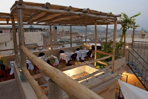 Riad Anata Fez terrace