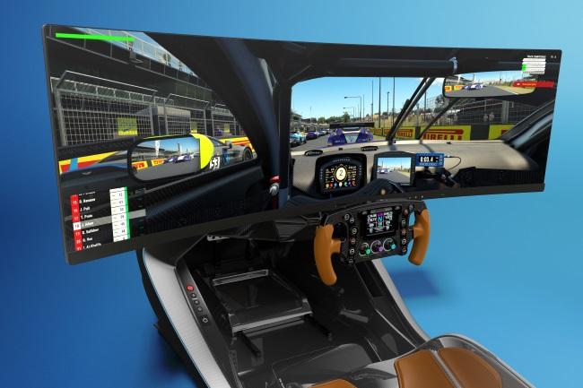 Lifestyle Cars Aston Martin Amr C01 Racing Simulator