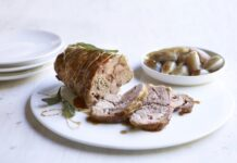 FESTIVE DINING DINING BORD BIA SHOULDER OF LAMB