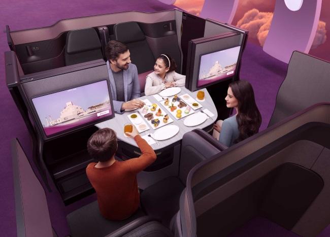 WORLD TRAVEL QATAR BUSINESS CLASS QSUITE