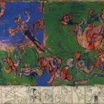 BELGIAN ART CANTA CARTA Pierre Alechinsky