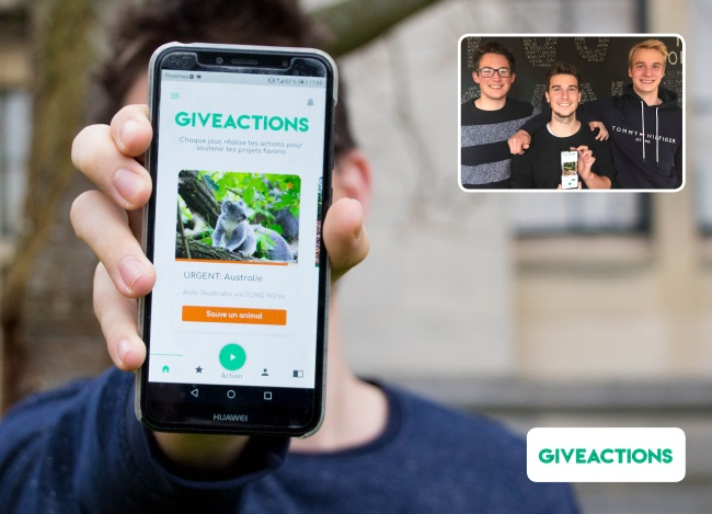 BELGIUM ENVIRONMENT GiveActions SENSE FUTURE GENERATIONS FOUNDATION SEnSE GiveActions-Team