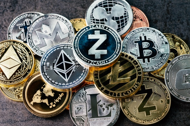 FINANCIAL TECHNOLOGY CRYPTO CURRENCY COINS