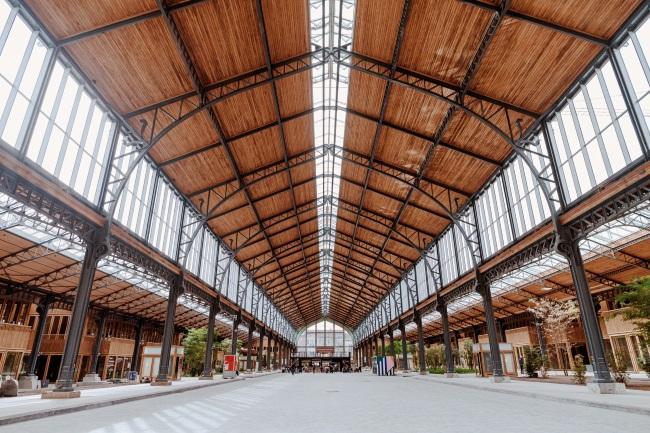 DESIGN IN BELGIUM DESIGN BRUSSELS SEPTEMBER Gare_Maritime_credit_Marine_Vancampenhout