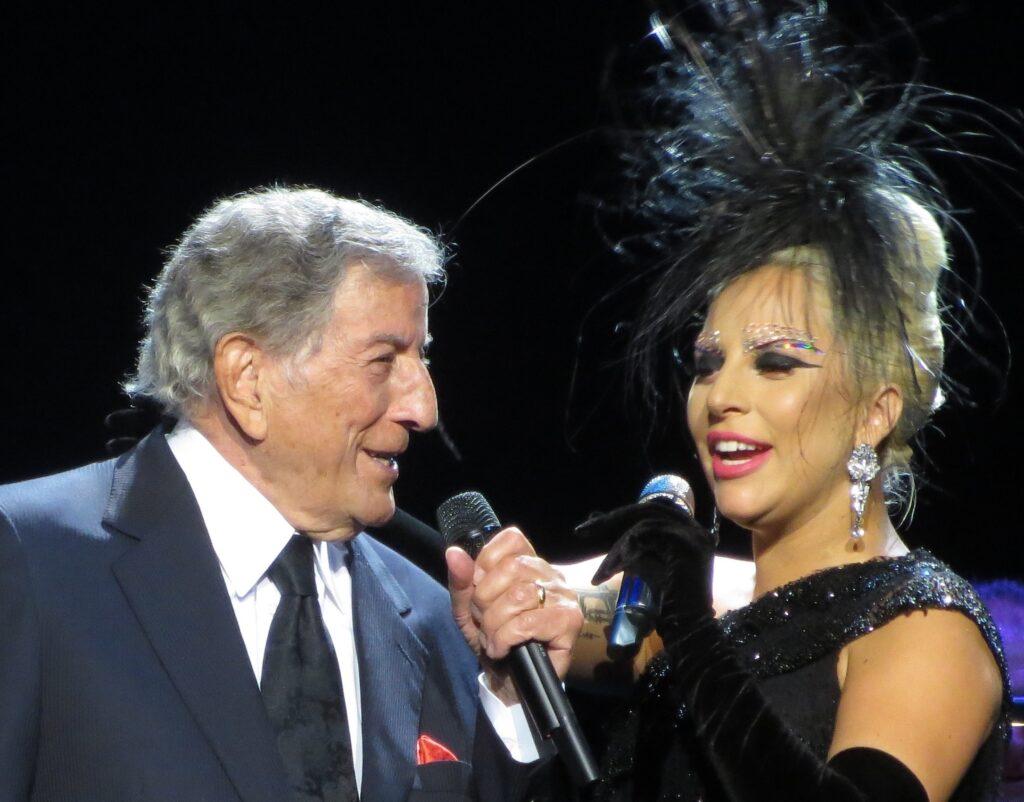 MOVIE CELEBRITIES LADY GAGA Tony Bennett & Lady GaGa, photo marcen27