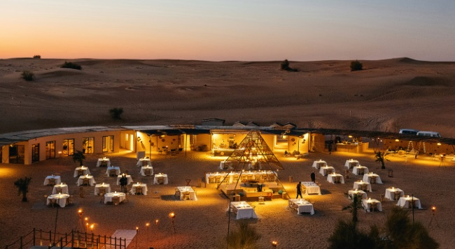TRAVEL MIDDLE EAST DUBAI SONARA CAMP